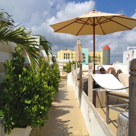 Sense Beach House: rooftop