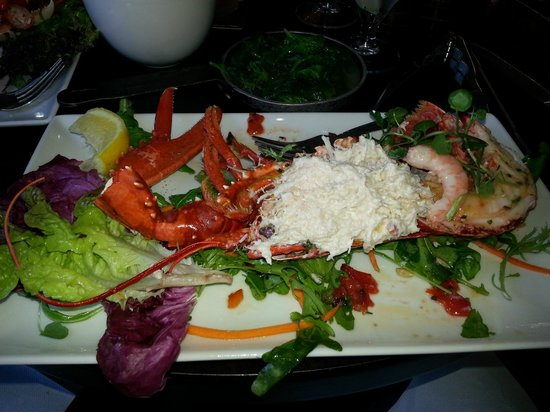 Matt The Thresher: Special of the day: lobster, crab, and shrimp salad. Amazing!!!