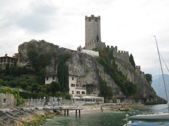 Hotel Maximilian: Scaliger Castle of Malcesine