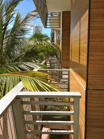 Sense Beach House: view from private balcony