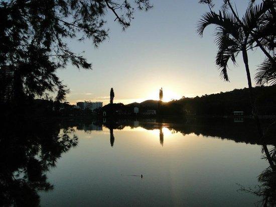 Parque das Aguas: Ao entardecer