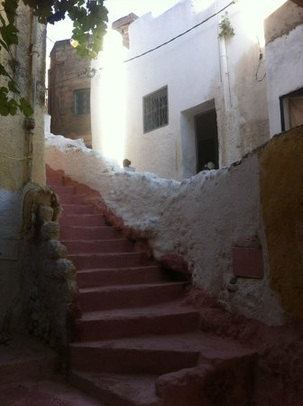 Dar KamalChaoui: Vue du village depuis l'entrée de la maison