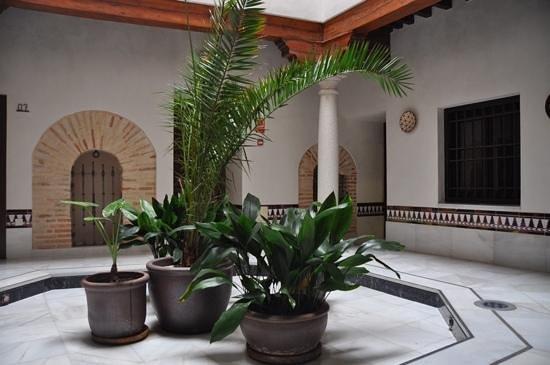 Sercotel Hotel Pintor el Greco : patio des chambres 6 et 7