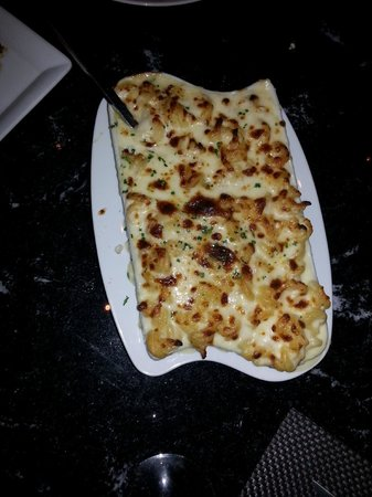 Red, the Steakhouse - South Beach : The mac'n cheese to die for!