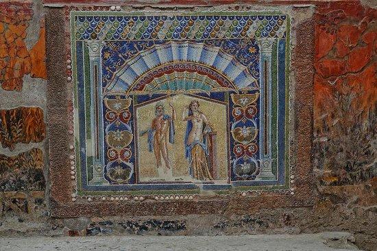 Ruins of Herculaneum: Herculaneum Mosaic
