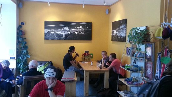 Airtime Cafe | Take-away: Inside sitting area