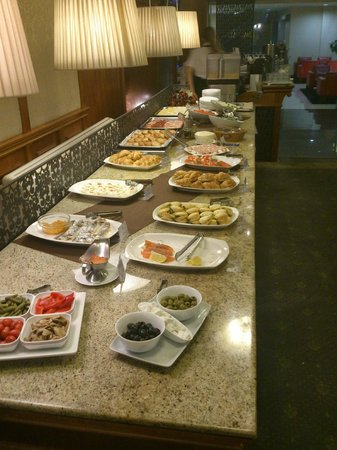 Congress Hotel: Breakfast - selection of cold dishes