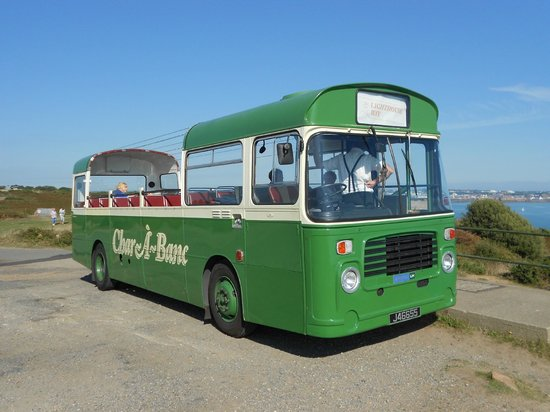 Jersey Bus and Coach Tours: The lovely old (1977) Bristol LH bus.