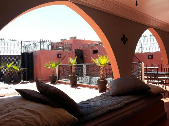 Riad Elizabeth: The rooftop