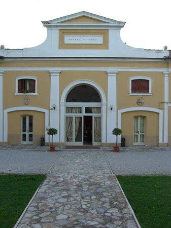 Villa Soligo Hotel: Eingang ins Restaurant