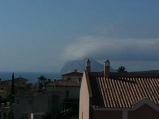 Alcaidesa: Gibraltar in the clouds