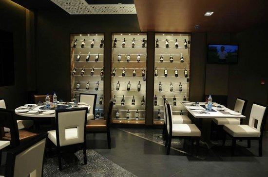 The Lobby Cafe: Wine Rack