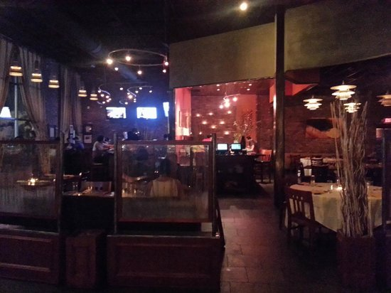 Rio Rodizio: the bar area