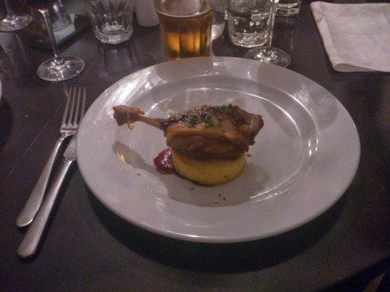 Bistro 18: Duck Breast - just perfect