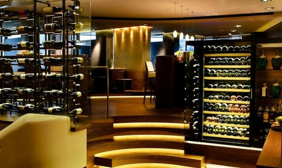 Goldberg Restaurant & Winelounge: Regional wine as well as wines from all over the world
