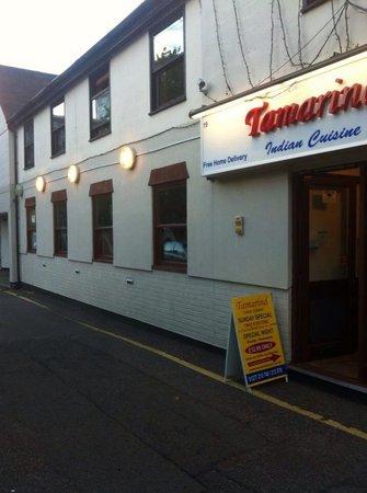 Tamarind Indian Fine Dining: Restaurant fornt