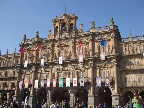 Plaza Mayor: 昼間の広場