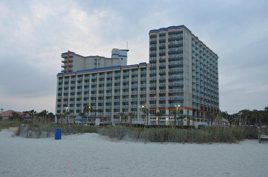 Dunes Village Resort View Of Palms Tower