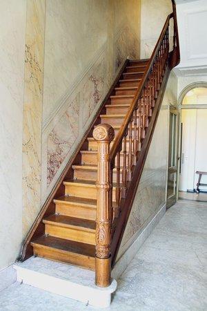Haas op het Vrijthof : Art deco trappenhuis
