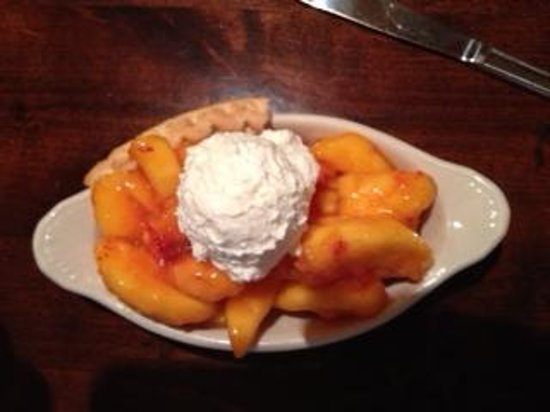 Maddox Ranch House Restaurant: Peach Pie
