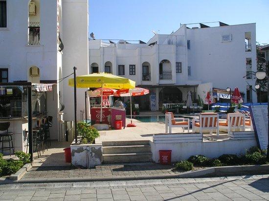 Aydem Hotel: hotel from promenade