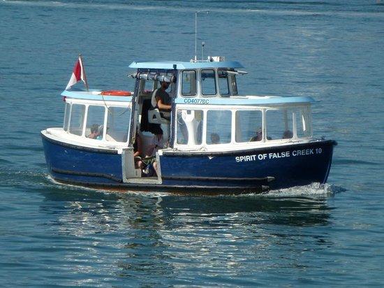 False Creek Ferries: Typical ferry