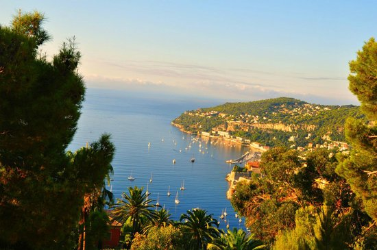 Hotel Azurea Nice : Вид на Ниццу