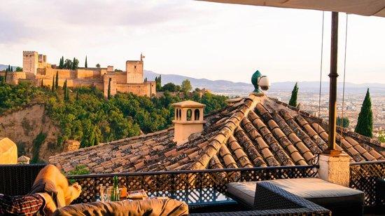 """¨ El Huerto de Juan Ranas ¨ #JUANRANAS: Sunset and Alhambra views from """"El Huerto de Juan Ranas"""""""