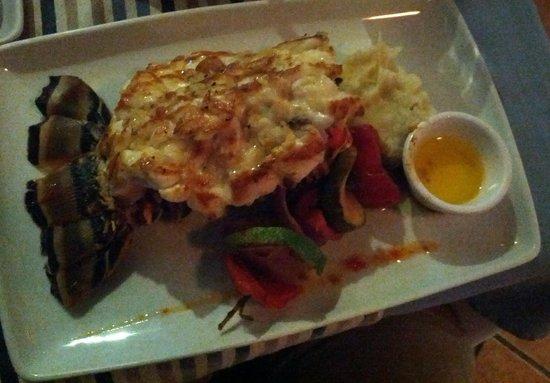 Blue Lobster : Delicious broiled 500gr lobster