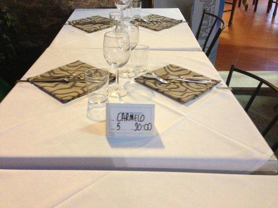 Restaurant La Stella: Tavolo pronto per le 20,00