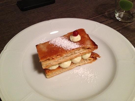 Verreveine : un délicieux dessert...