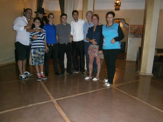 kasbah Caracalla : équipe au complet