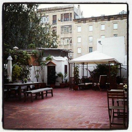 Rodamón Barcelona Hostel: Este foi o ambiente que me deu energias todos os dias pela manhã!!!
