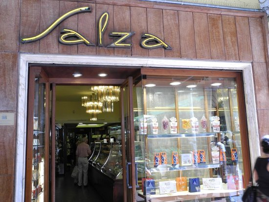 Pasticceria Salza: Der Eingang
