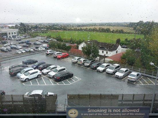 Premier Inn Dublin Airport Hotel: View from room