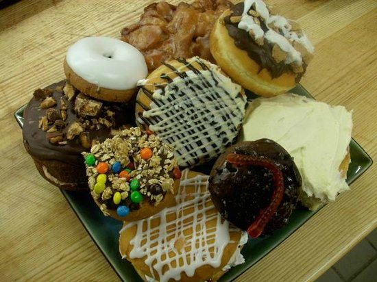 Palenque Coffee House & Doomsday Donuts: Doomsday Donut Platter