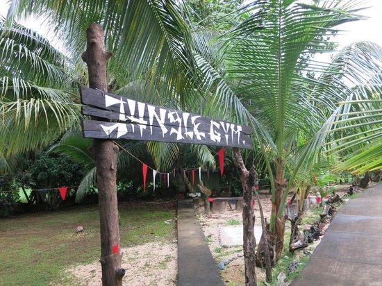 Popa Paradise Beach Resort: Ty's Jungle Gym