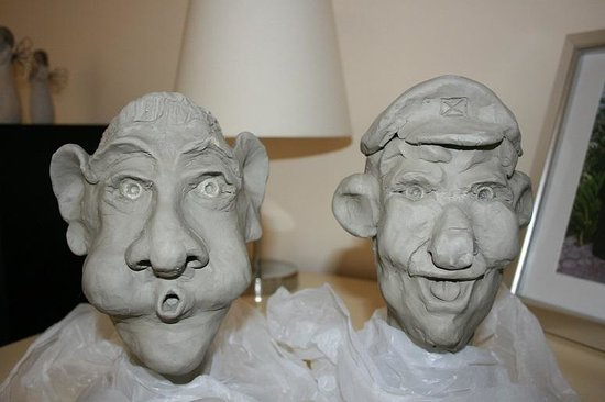 The Sculpture Workshop : had fun creating these!