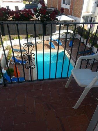 Hotel El Cid: Balcony view