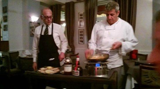 La Tavernetta: Supremo Chef Pino, and Diego