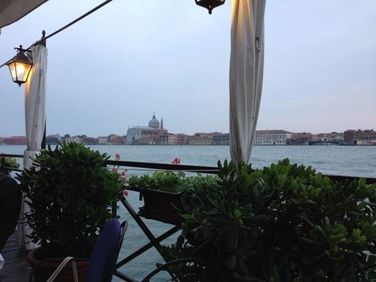 Ristorante La Calcina: view from terrasse