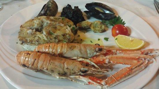 Restaurant Arkada : Fish platter