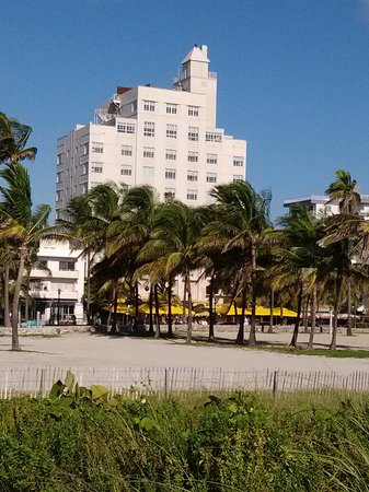 The Tides South Beach: View of Hotel from Beach