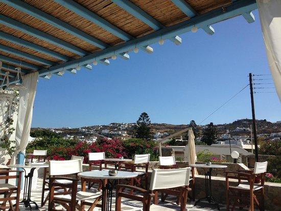 Hotel Erato : breakfast view