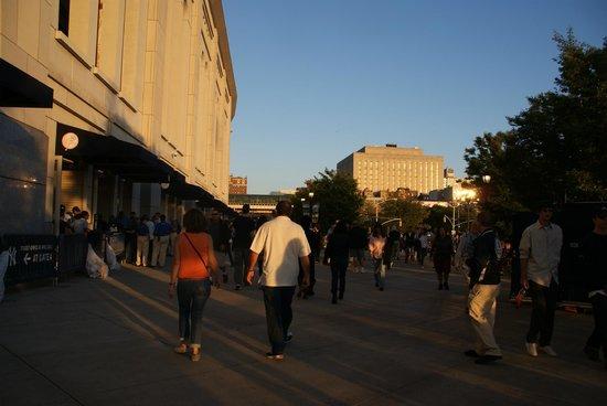 Yankee Stadium: abords du stade