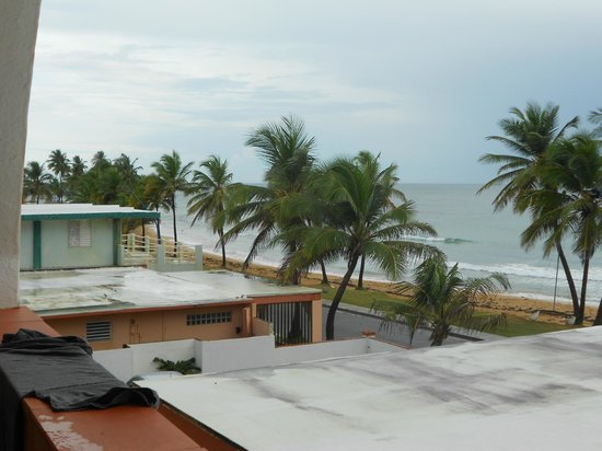 Luquillo Sunrise Beach Inn: View from our room