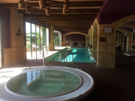 Hotel Peralada Wine Spa & Golf : Spa area