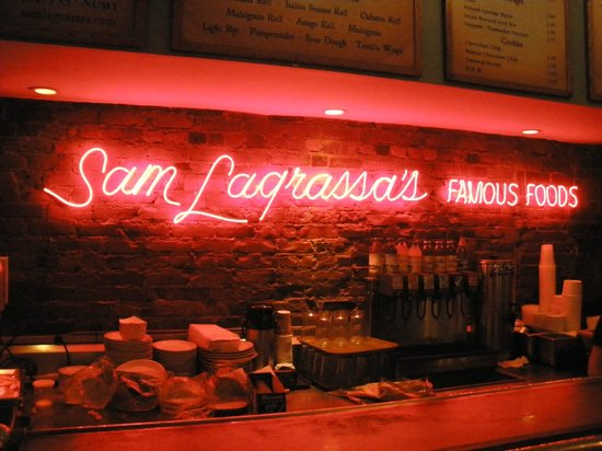 Sam LaGrassa's: View from the counter