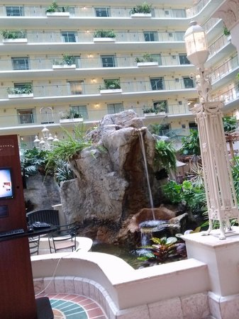 Embassy Suites by Hilton Fort Lauderdale 17th Street: Inside the atrium