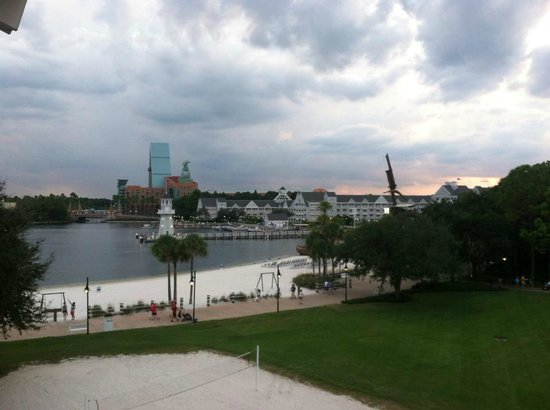Disney's Beach Club Resort: View from our room